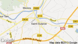 Plan de Saint-Sulpice