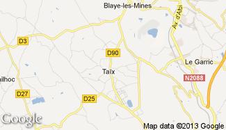 Plan de Taïx