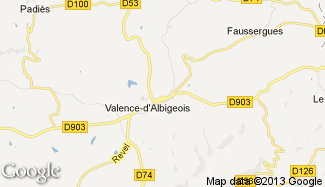 Plan de Valence-d'Albigeois