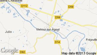 Plan de Vielmur-sur-Agout