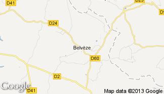 Plan de Belvèze