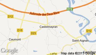 Plan de Castelmayran