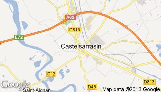 Plan de Castelsarrasin