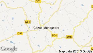 Plan de Cazes-Mondenard