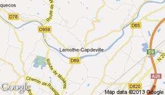 Plan de Lamothe-Capdeville