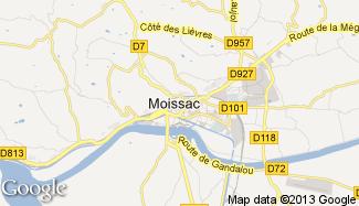 Plan de Moissac