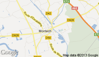 Plan de Montech