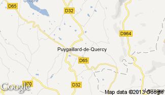 Plan de Puygaillard-de-Quercy