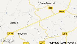 Plan de Saint-Amans-du-Pech