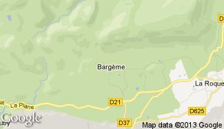Plan de Bargème