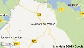 Plan de Baudinard-sur-Verdon