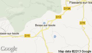 Plan de Besse-sur-Issole