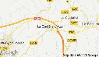 Plan de La Cadière-d'Azur