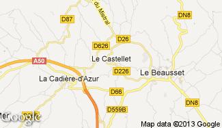 Plan de Le Castellet