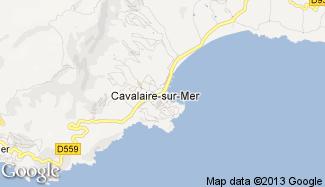 Plan de Cavalaire-sur-Mer