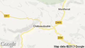 Plan de Châteaudouble
