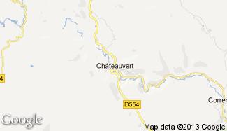 Plan de Châteauvert