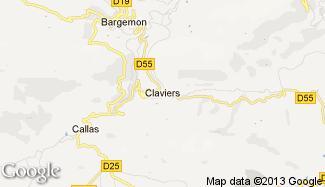 Plan de Claviers