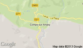 Plan de Comps-sur-Artuby