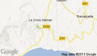 Plan de La Croix-Valmer