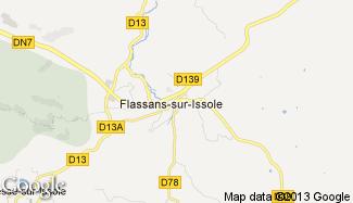Plan de Flassans-sur-Issole