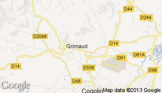 Plan de Grimaud