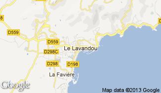 Plan de Le Lavandou