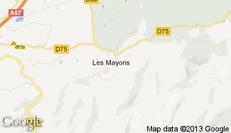 Plan de Les Mayons