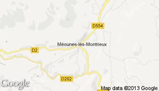 Plan de Méounes-lès-Montrieux