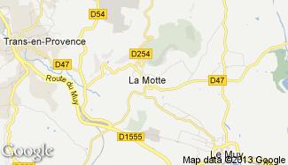 Plan de La Motte