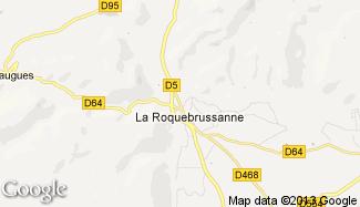 Plan de La Roquebrussanne