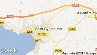 Plan de Saint-Cyr-sur-Mer