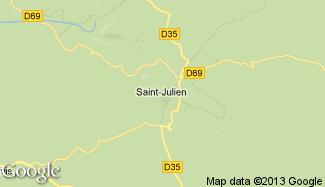 Plan de Saint-Julien