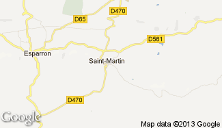 Plan de Saint-Martin