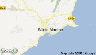 Plan de Sainte-Maxime