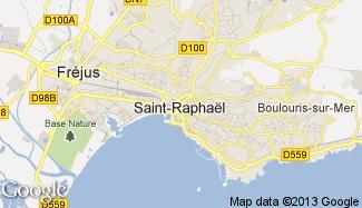 Plan de Saint-Raphaël