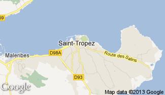 Plan de Saint-Tropez