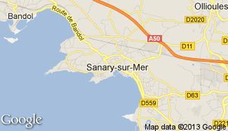 Plan de Sanary-sur-Mer