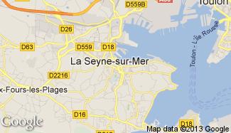 Plan de La Seyne-sur-Mer
