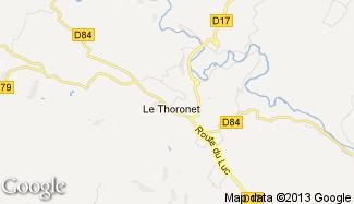 Plan de Le Thoronet