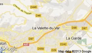 Plan de La Valette-du-Var