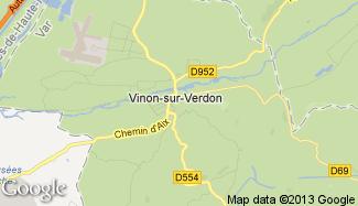 Plan de Vinon-sur-Verdon