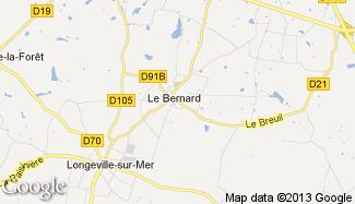 Plan de Le Bernard