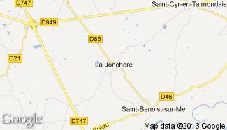 Plan de La Jonchère