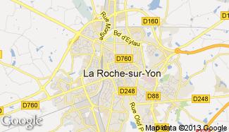 Plan de La Roche-sur-Yon