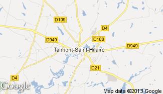 Plan de Talmont-Saint-Hilaire