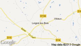 Plan de Leigné-les-Bois