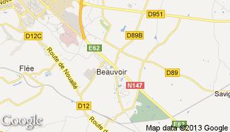 Plan de Mignaloux-Beauvoir