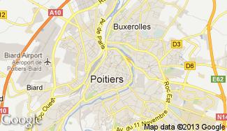 Poitiers 86000 for Plan de la vienne 86000