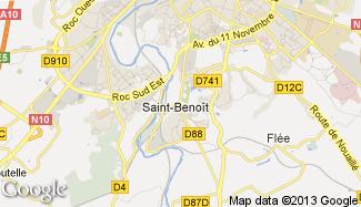 Plan de Saint-Benoît